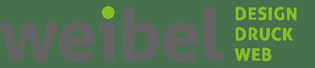 Logo Weibel Druck & Design